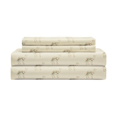 Timms Hill Camel Sheet Set Size: California King