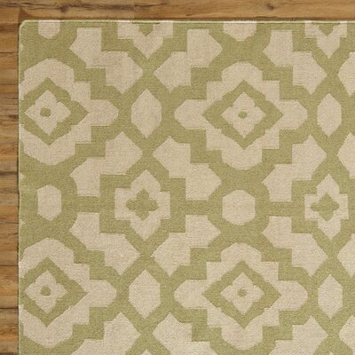 Dana Putty & Leaf Rug Rug Size: Rectangle 5 x 8