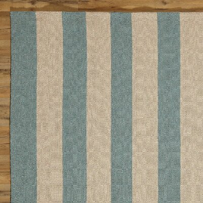 Lisette Hand-Woven Indoor/Outdoor Area Rug Rug Size: Rectangle 5 x 8