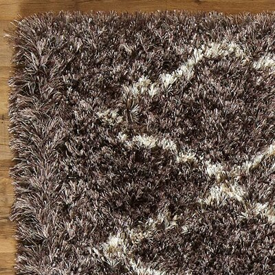 Birch Lane Evelyn Pewter Shag Rug