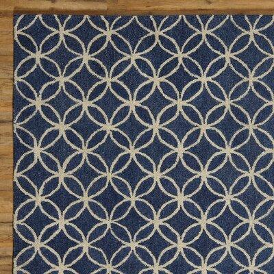 Kenzie Navy & Parchment Rug
