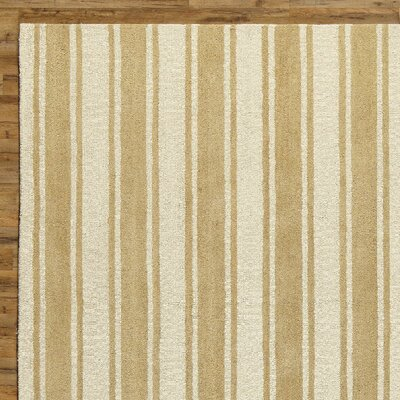 Tenley Natural & White Rug Rug Size: Rectangle 5 x 8