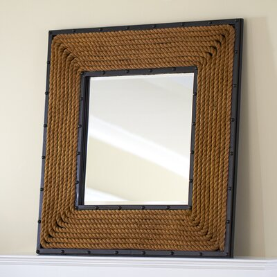 Square Rope Wall Mirror