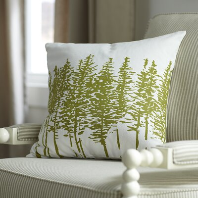 Darcy Pillow Cover Color: Leaf