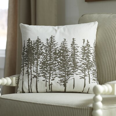 Darcy Pillow Cover Color: Pewter