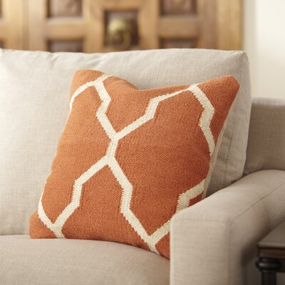 Becca Decorative Pillow Cover Color: Tangerine