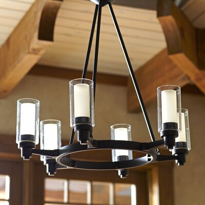 Birch Lane Gramercy 6 Light Candle-Style Chandelier