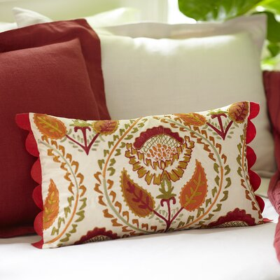 Camille Embroidered Pillow Cover