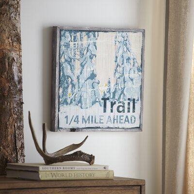 Trail Wood Wall Art