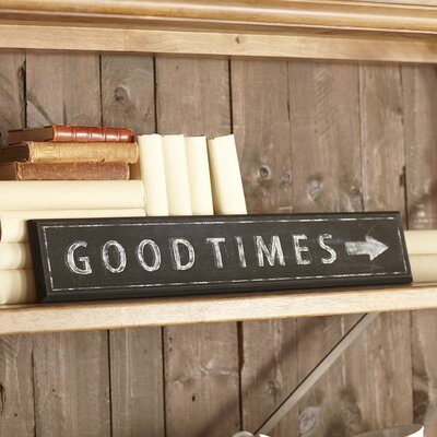 Good Times Plaque