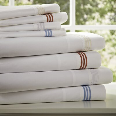Birch Lane Basics Sheet Set Size: California King, Color: Blue