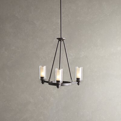 Gramercy 3-Light Candle-Style Chandelier