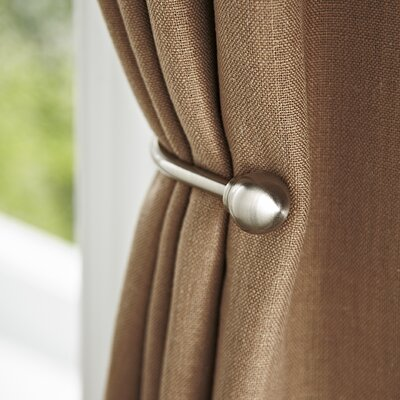Brushed Bronze Drapery Curtain Holdback