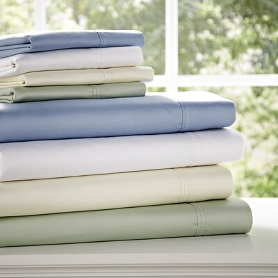 Birch Lane Classics Sheet Set Size: Queen, Color: Chocolate