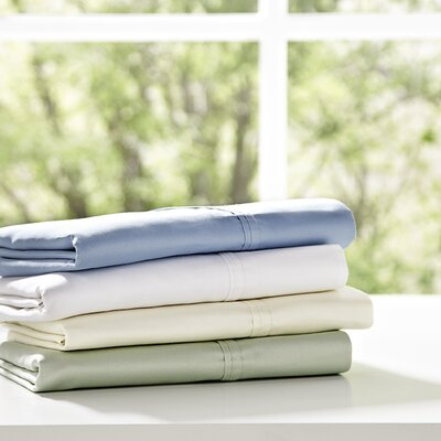 Birch Lane Classics Pillowcases Size: King, Color: Espresso