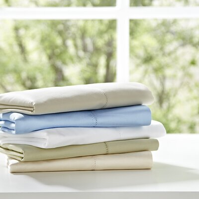 Hotel Pillowcase Size: Standard, Color: Bone