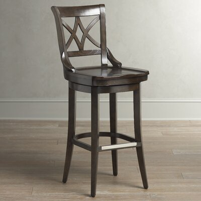 Morrow Swivel Stool Seat Height: 30