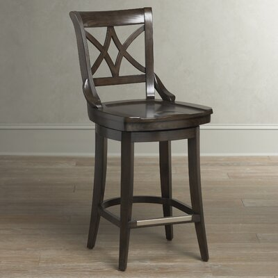 Morrow Swivel Stool Seat Height: 26 inch