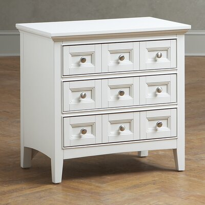 Tilton Nightstand Color: Creamy White