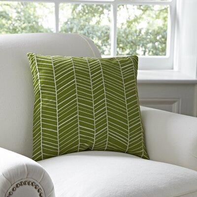 Ash Hill 100% Cotton Throw Pillow Color: Leaf
