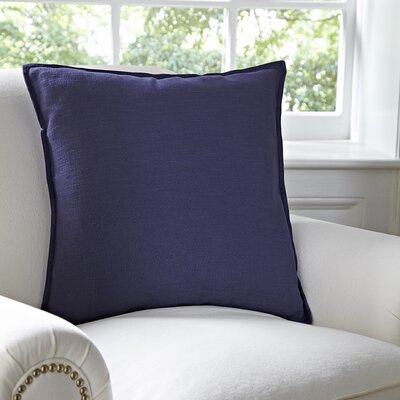 Milly Pillow Cover Color: Navy