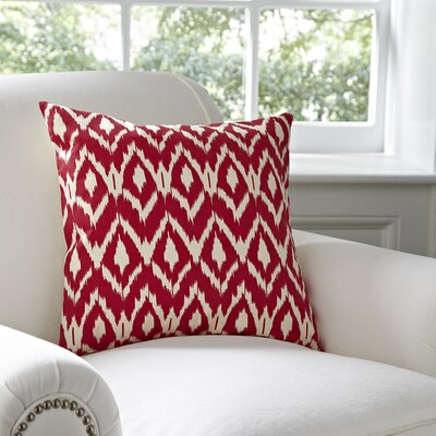 Tara Pillow Cover Color: Pink