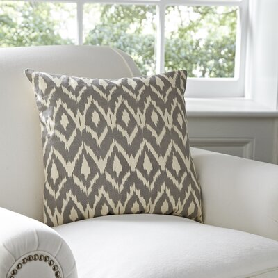 Tara Pillow Cover Color: Pewter