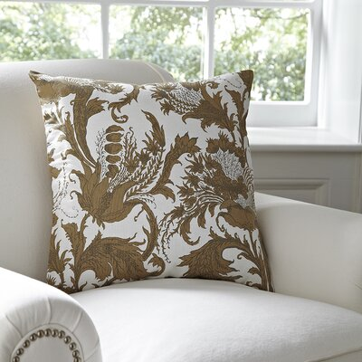 Vivi Pillow Cover Color: White & Natural
