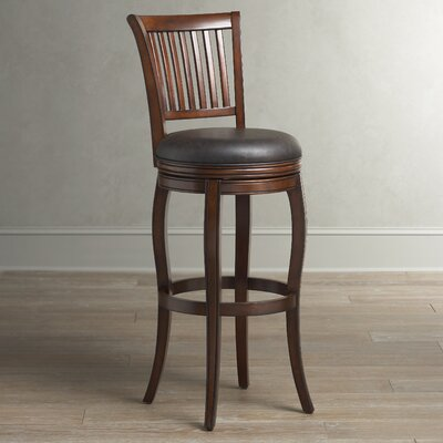 Gilbert Swivel Stool Seat Height: 34