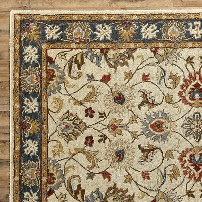 Arden Parchment Rug Rug Size: 12 x 15