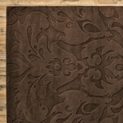 Ella Chocolate Rug Rug Size: Rectangle 9 x 13