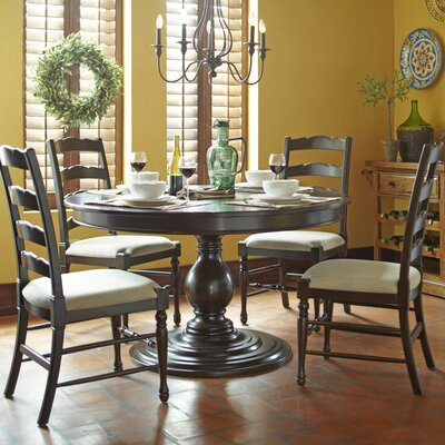 Furniture-Carlisle Round Extending Dining Table