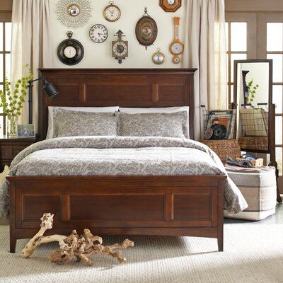Bristol Wood Headboard Size: King