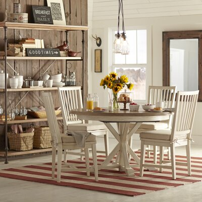 Grafton Side Chairs (Set of 2) Finish: Parchment