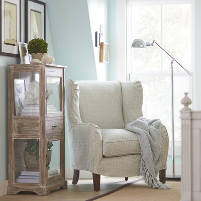 Easton Chair Upholstery: Dana Marine