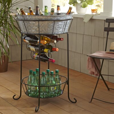 Cawley Beverage Station Finish: Galvanized Steel