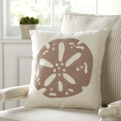 Sand Dollar Ocean Pillow Cover