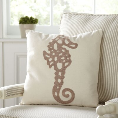 Seahorse 100% Cotton Pillow Cover