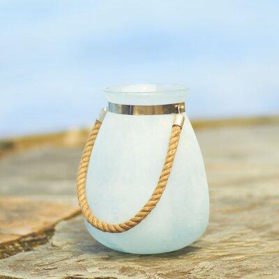 Paulton Glass Lantern Size: Small