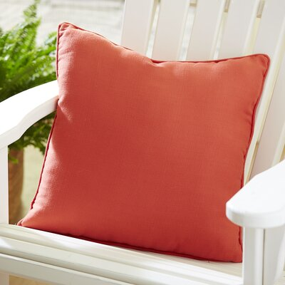 Mara Outdoor Throw Pillow Color: Terra