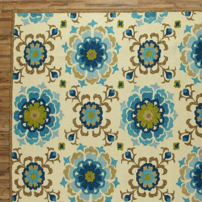 Natalia Pool Indoor/Outdoor Rug Rug Size: Rectangle 2 x 3