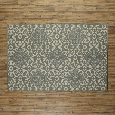 Lydia Sage Indoor/Outdoor Rug Rug Size: Rectangle 53 x 76