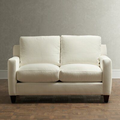 Kerry Loveseat Upholstery: Spinnsol Iron