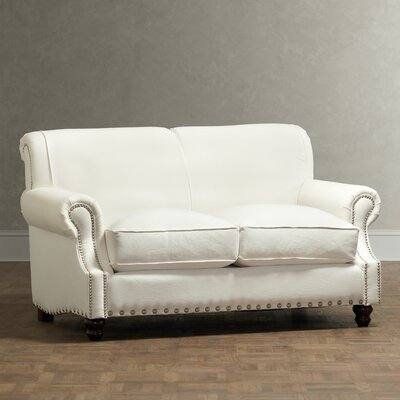 Landry Loveseat Upholstery: Godiva Putty