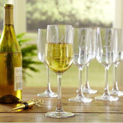 Monogrammed Tritan Outdoor Wine Glass