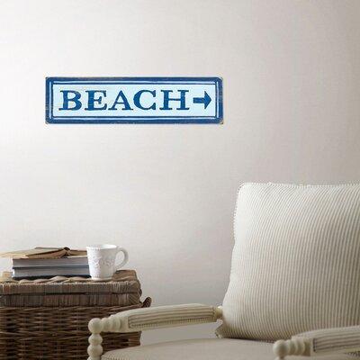 Beach Directional Wall Decor