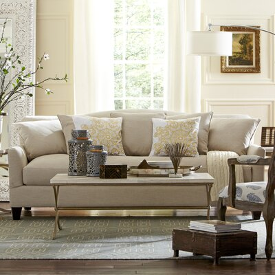 Fairchild Sofa Upholstery: Pebble Ivory