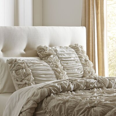 Laurel Comforter Set Size: Full / Queen, Color: Grey