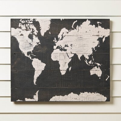 Explorer Map Wall Art