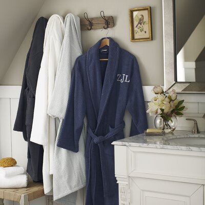 Winchester Robe, Navy Size: Large / Extra Large